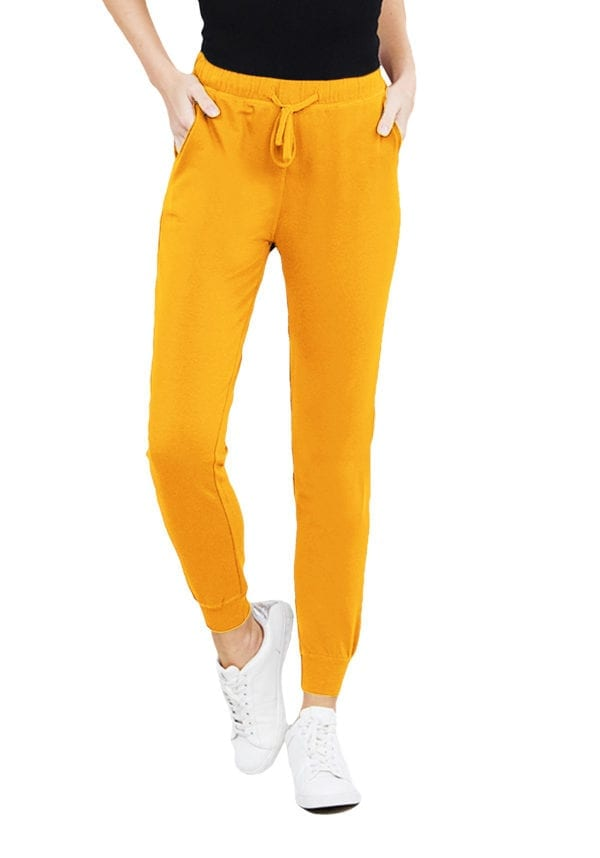 Two Tone French Terry Jogger Pants (Plus)