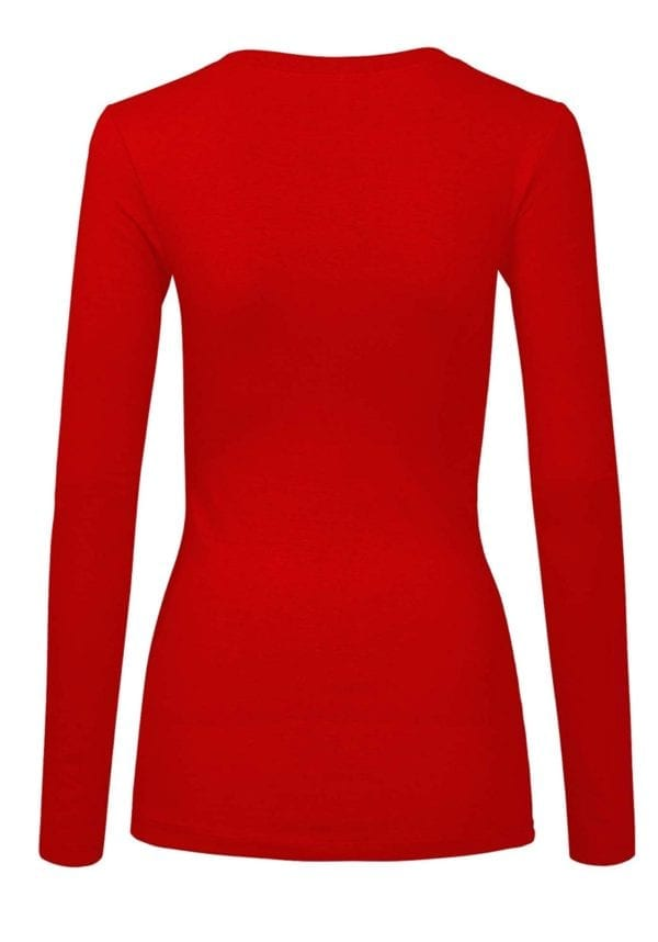Long Sleeve Casual Round Neck Top