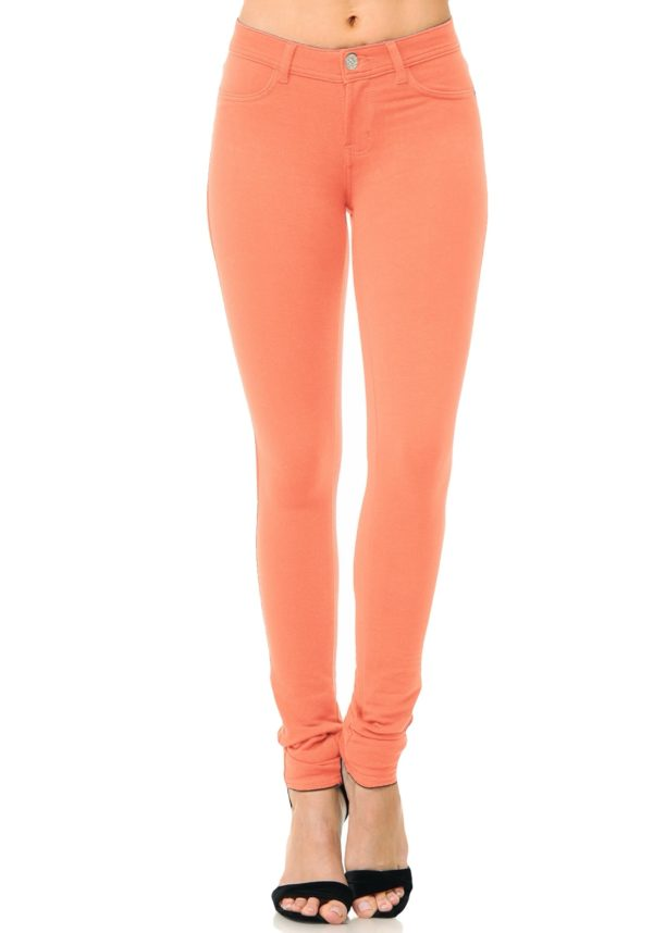 Basic Brazilian Moleton Skinny Pants