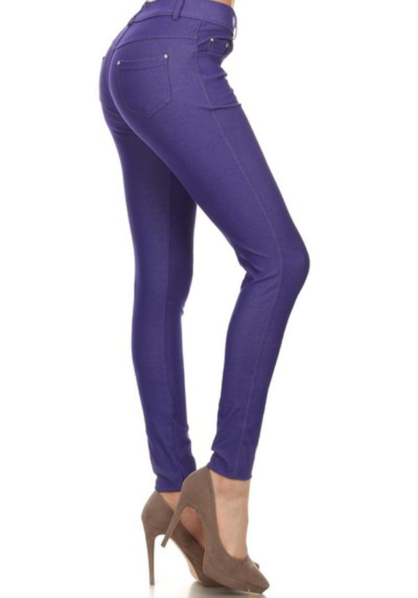 Classic Solid Stretch Jeggings