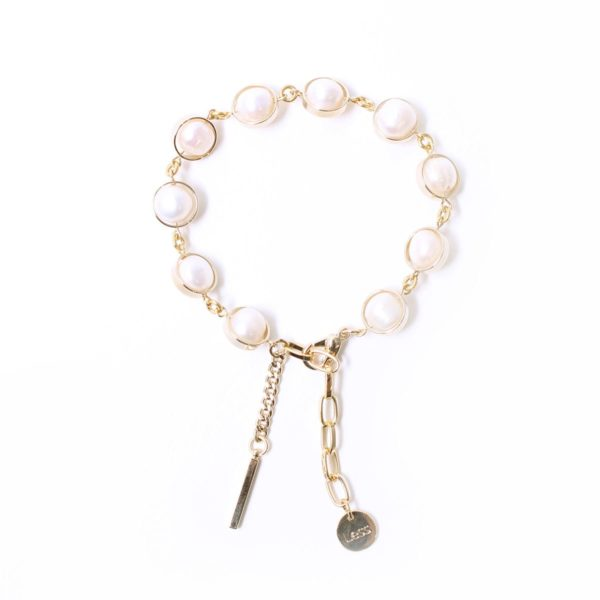 Natural Pearl Bar Stick Bracelet