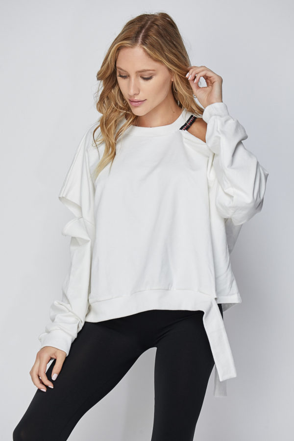 Cut-out Sweatshirt