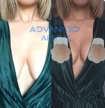 Women's Silicone Breast Lift Pasties Reuseble Nipple Covers Regular / Plus Size *100% Genuine*