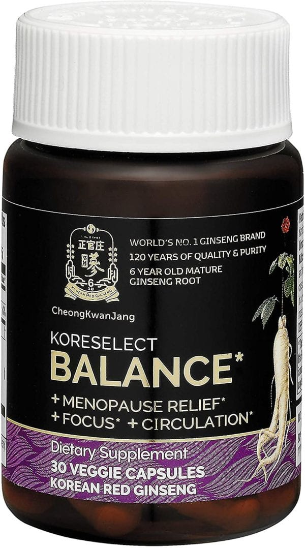 KoreSelect Balance Menopause Relief For Women. Natural ...