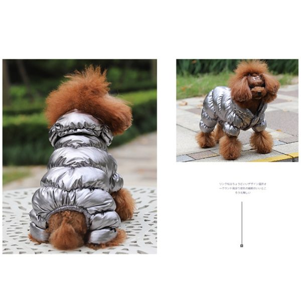 Big Designer Small Dog Clothes for Small Large Dogs Thicken Plush Waterproof Winter Dog Clothes for Dogs 2020 York Chihuahua Pug
