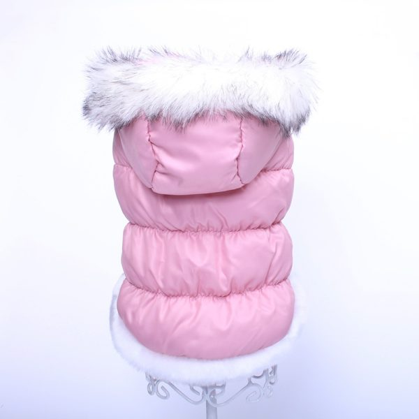 Dog Cat Winter Warm Coat Jacket Dress Pet Puppy Hoodie Winter Warm Clothes Apperal