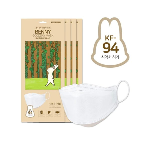[Happy Life] Benny KF94 Mask - Adult 10 Pcs