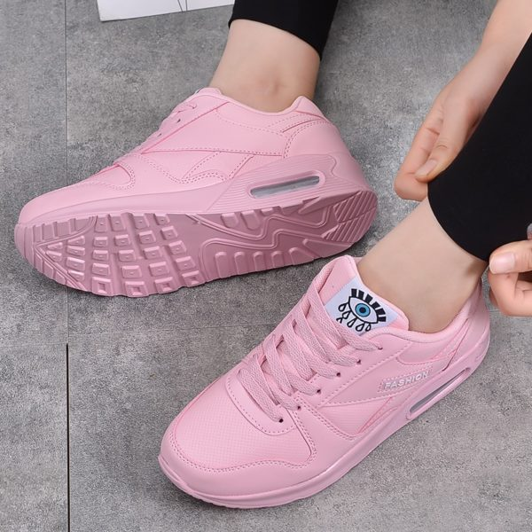 MWY Winter Fashion Women Casual Shoes Leather Platform Shoes Women Sneakers Ladies White Trainers Light Weight Chaussure Femme