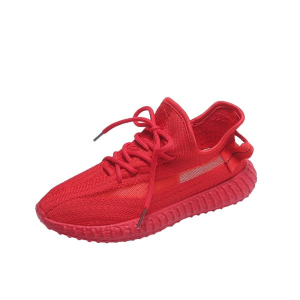 Women Sneakers Cushion Running Shoes Plus Size 39 40 Vulcanized Breathable Non Slip Lace Up Flats Damping Jogging Sport Shoes