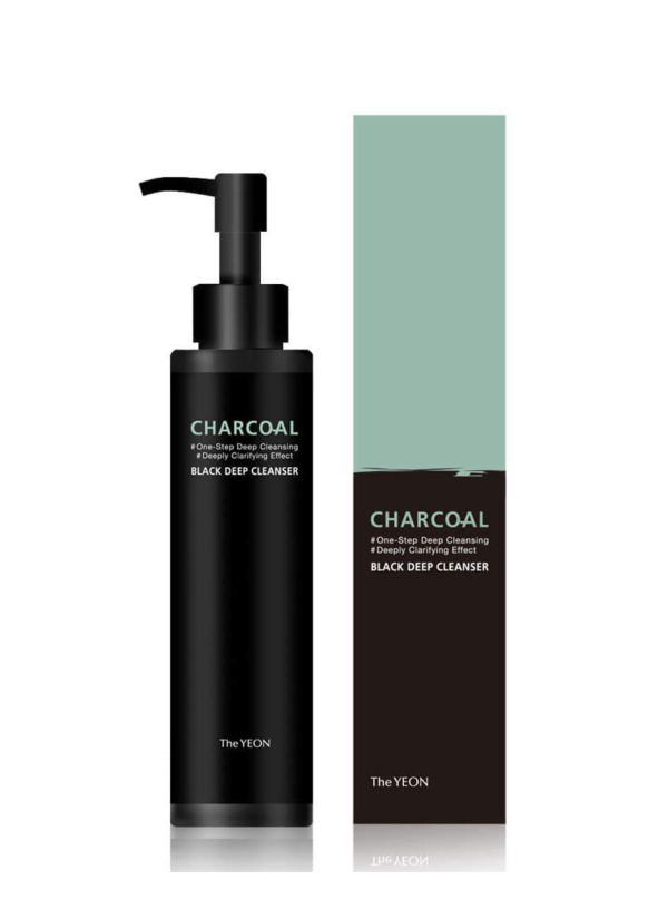 The Yeon Charcoal Black Deep Cleanser 150 ml