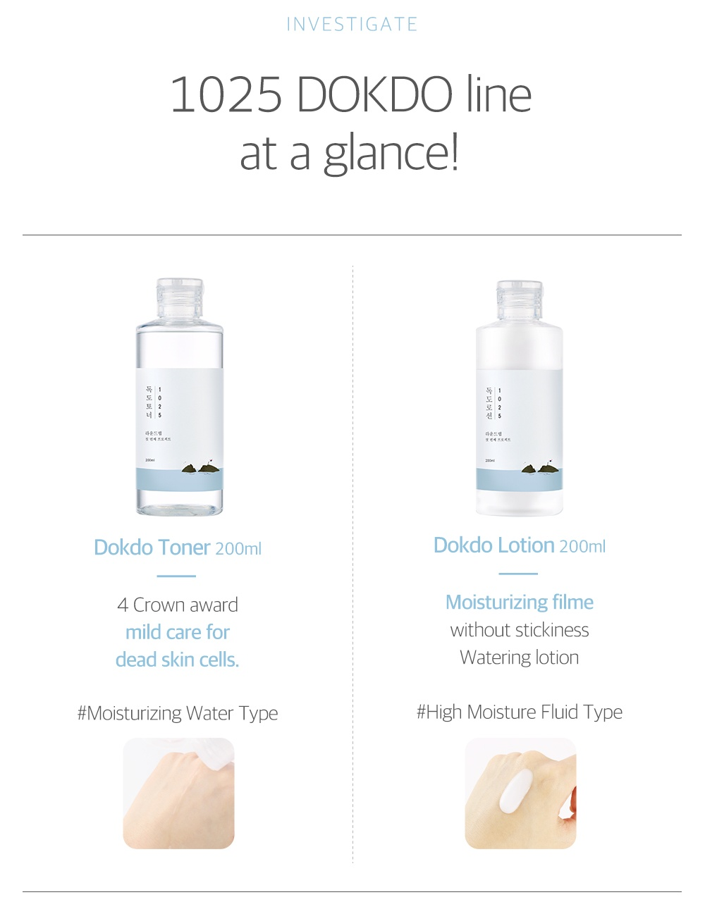 ROUND LAB - 1025 Dokdo On-The-Go Set (Toner + Lotion + Cleanser)