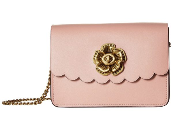 Coach Peony Bower Crossbody with Turnlock