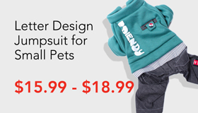 Dog Cat Jumpsuit