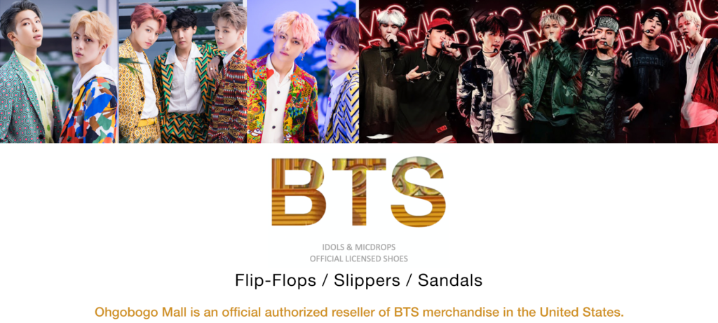 BTS Idol Series Slipers - Capricorn (Official Licensed Product)